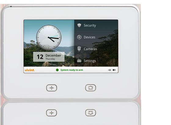Vivint Alarm System >> Vivint Support   SkyControl™ Display