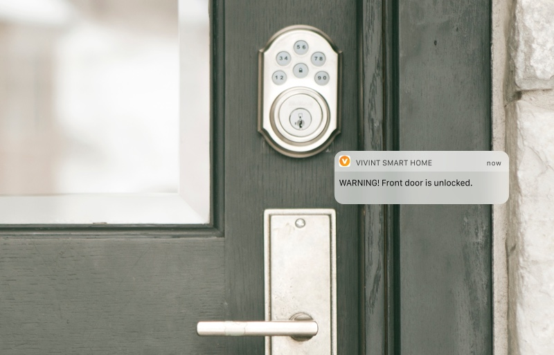Home security systems home alarm systems vivint for Best locks for home security