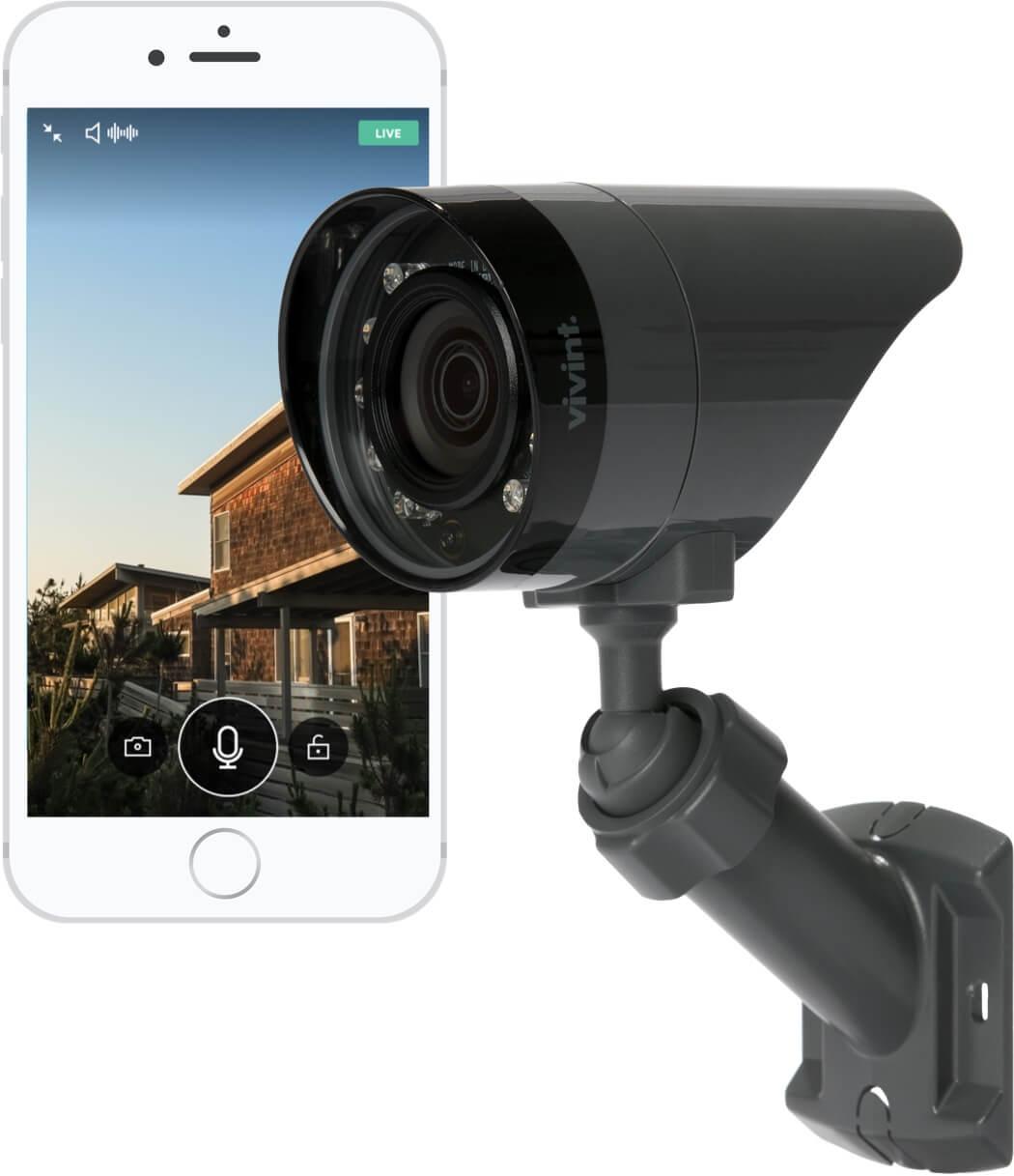 Outdoor Surveillance Camera Vivint 844 318 3350