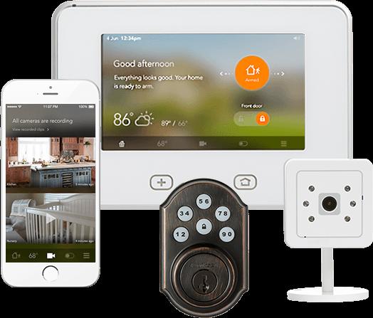 Vivint Sky Smart Home Control 855 667 9097