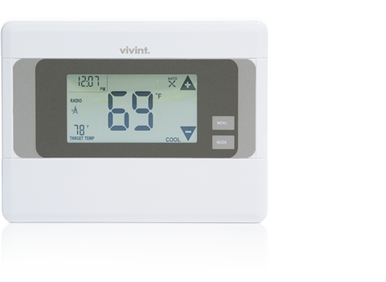 vivint support smart thermostat rh support vivint com apx alarm system manual Honeywell Alarm System