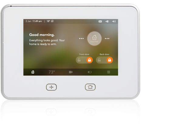 Vivint Alarm System >> Vivint Support Skycontrol Display 2 0
