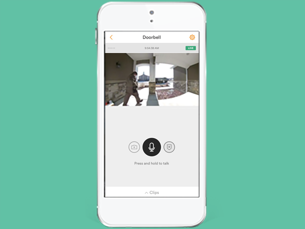 how to connect vivint doorbell camera