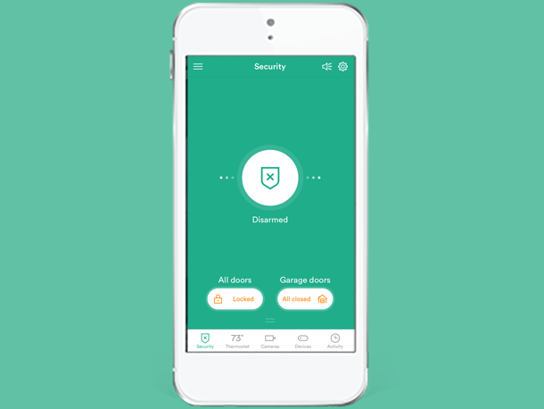 Smart Home App Enable Disable Notifications