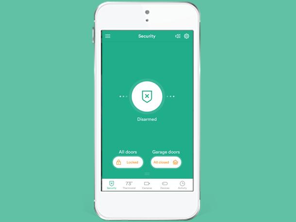 House App arm & disarm | vivint smart home app