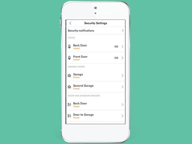 Smart Home App Change Device Settings