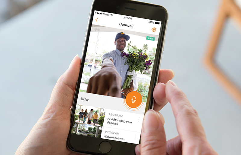 Smartphone Home Automation home automation systems & smart home devices | vivint