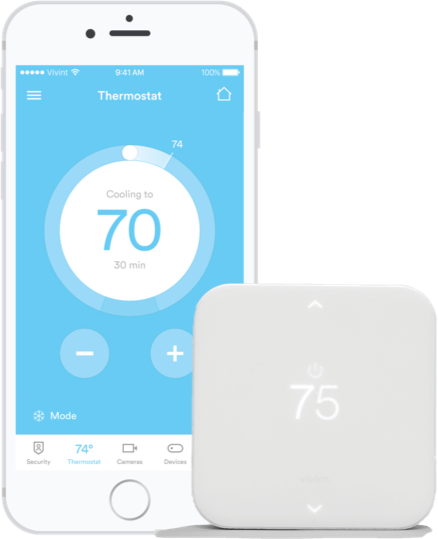 A smart wireless thermostat that blends comfort and savings
