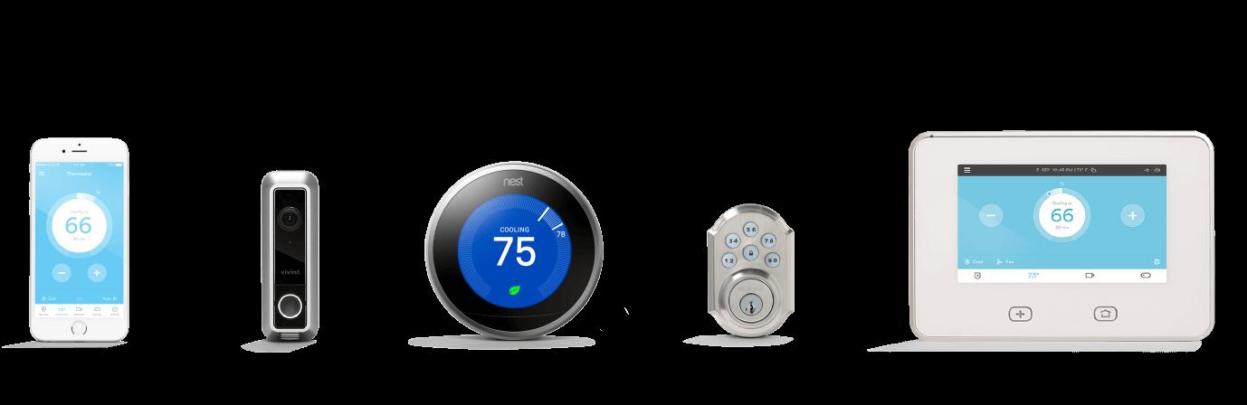 Nest Thermostat Vivint Smart Home 844 318 3350