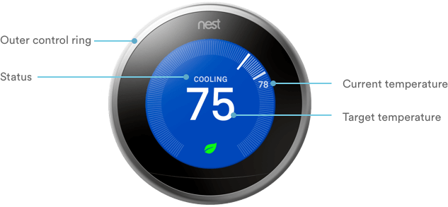 Nest Thermostat – Smart Thermostat Control | Vivint Smart Home