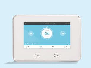 Smart Home Control Panel Vivint 844 318 3350