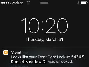 Smart Door Lock 855 720 1196 Vivint Smart Home