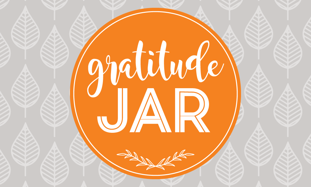 Gratitude Jar Label