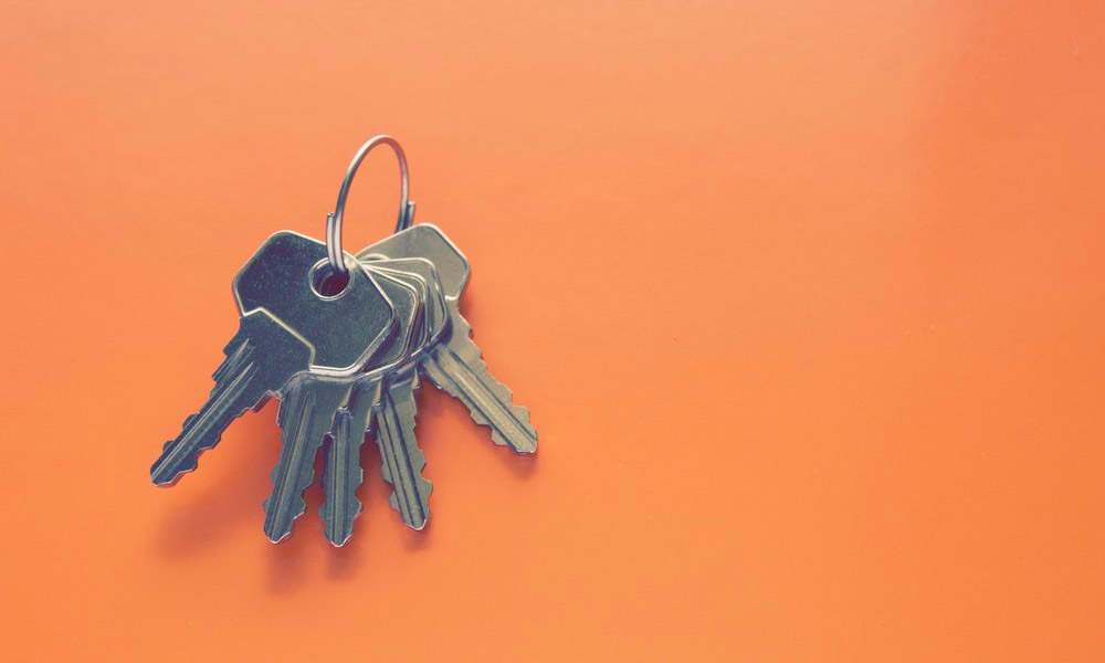 Set of house keys
