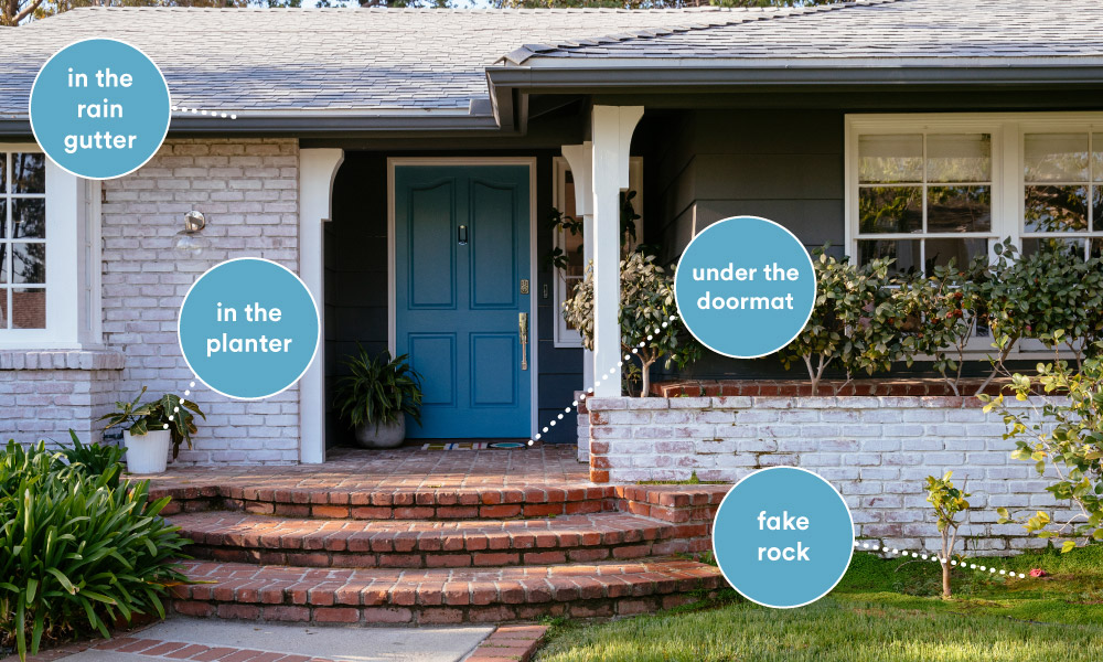 home security key locations vivint smart home