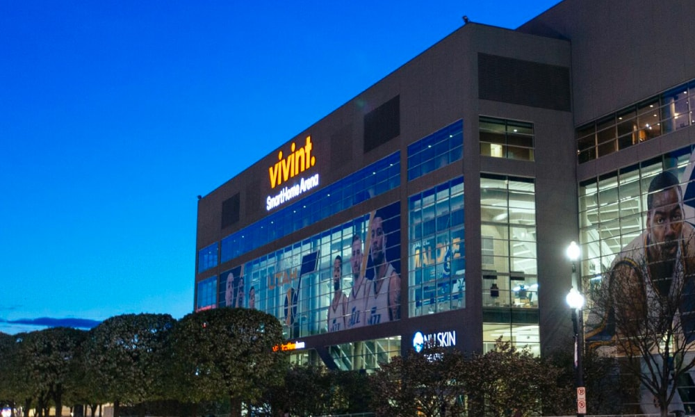 Vivint Smart Home Arena in Salt Lake City, Utah