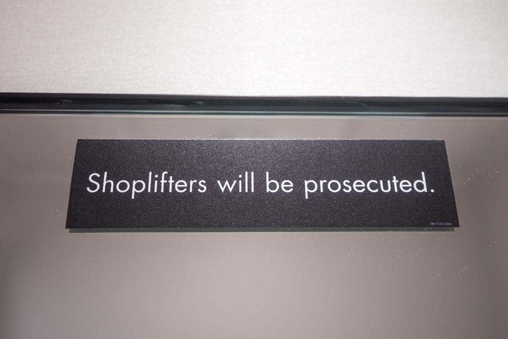 preventing shoplifting