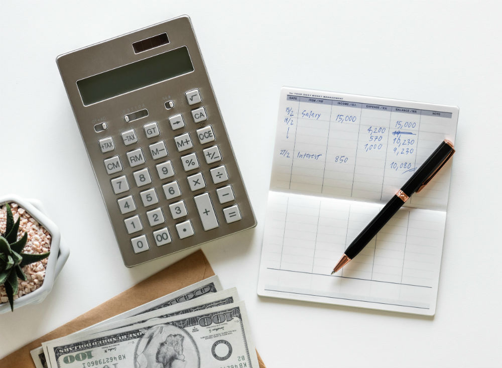 Calculator and budgeting