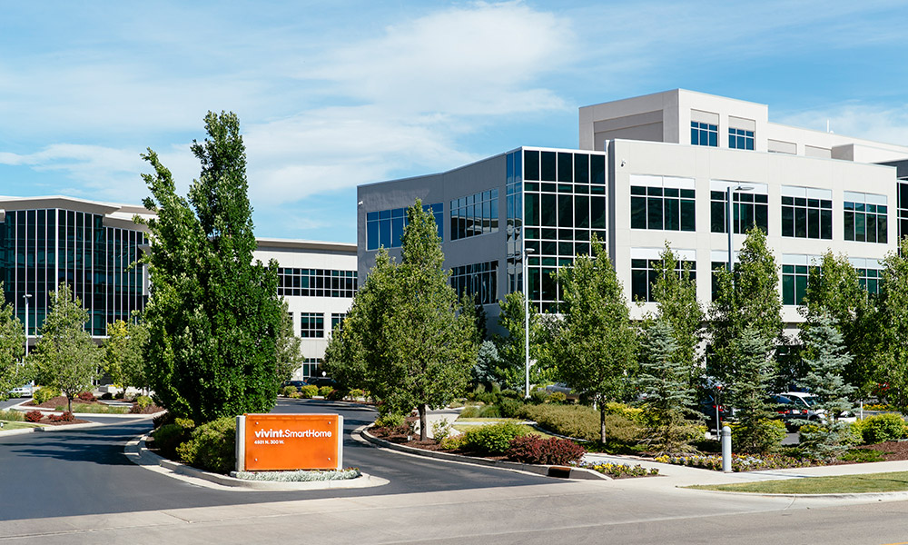 Vivint Smart  Home Provo Offices Entrance