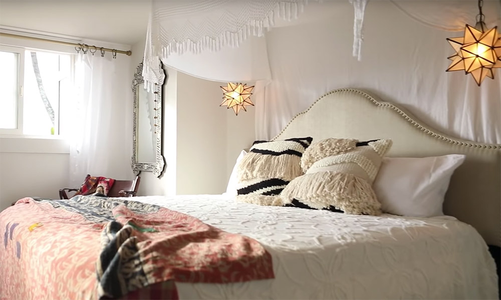 Bucket List Family remodeled master bedroom Morocco theme