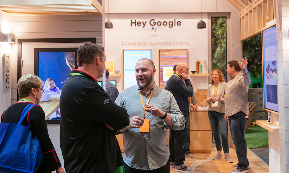 Vivint works with Google Assistant