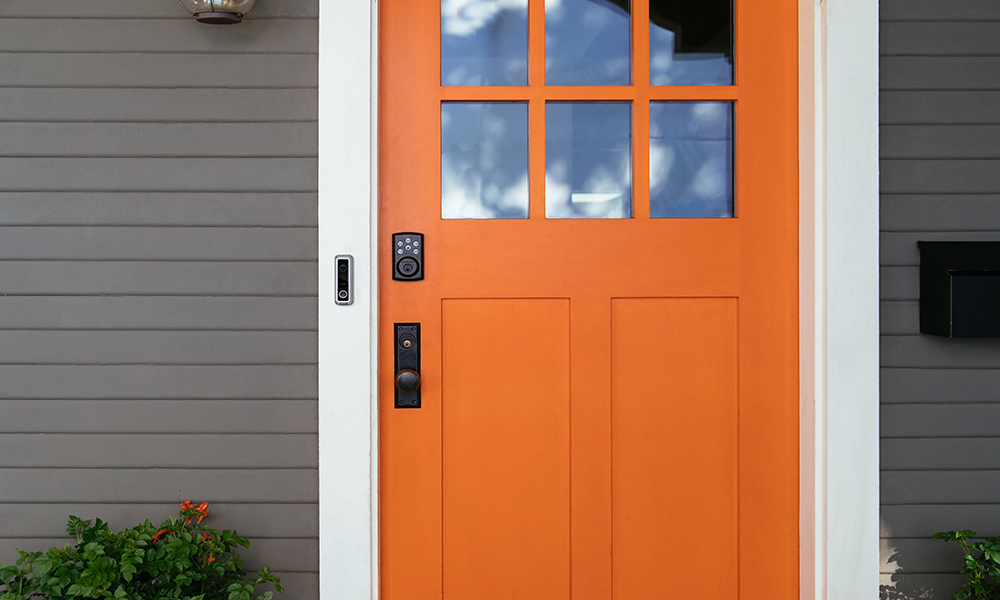 vivint doorbell camera orange door