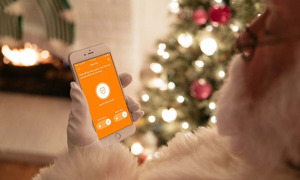The Vivint Smart Home app connects you to your home