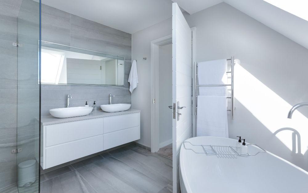 vivint smart home bathroom