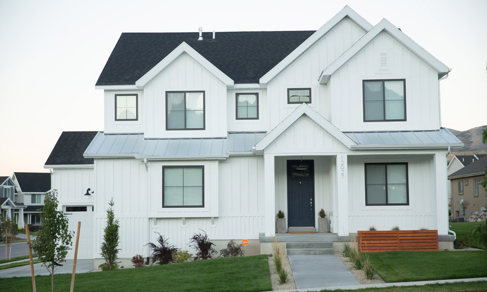 modern home vivint smart home