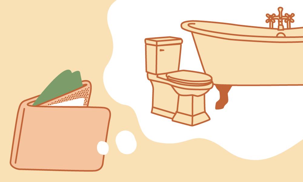 practical bathroom renovations on a budget vivint