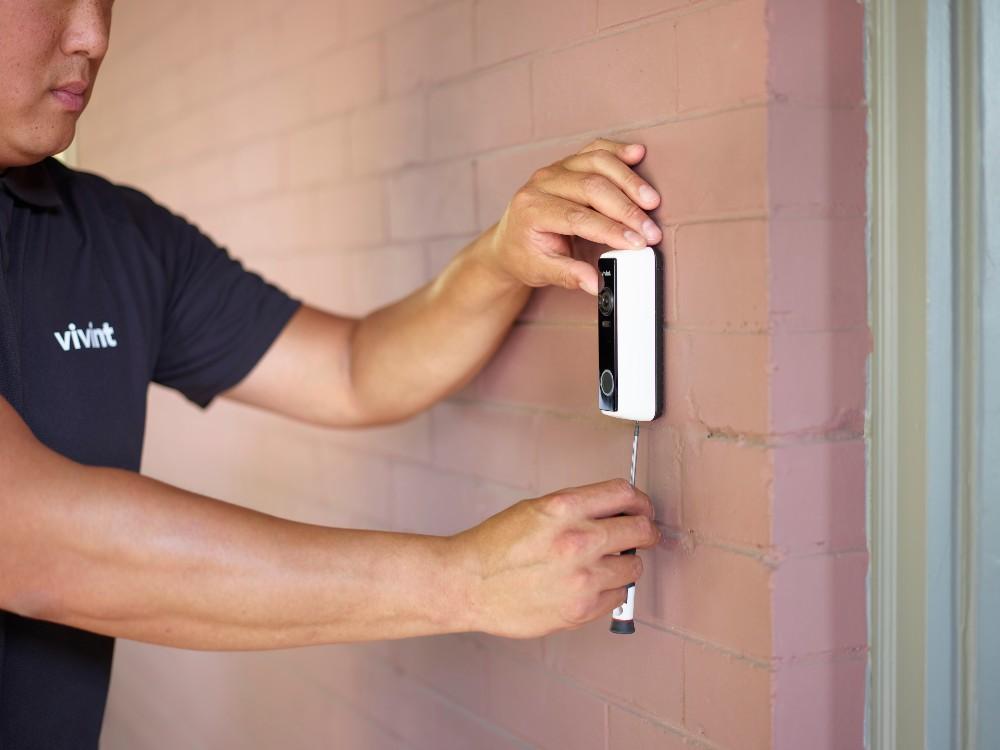 vivint doorbell camera pro installation