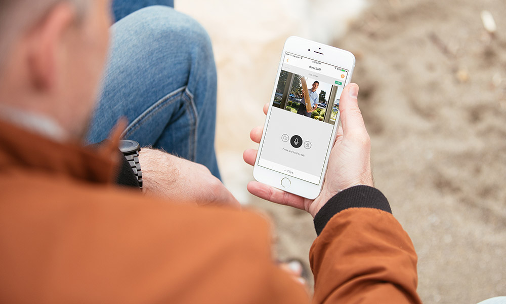 View live video feeds with the Vivint Smart Home app