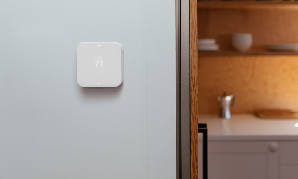 vivint smart home element thermostat