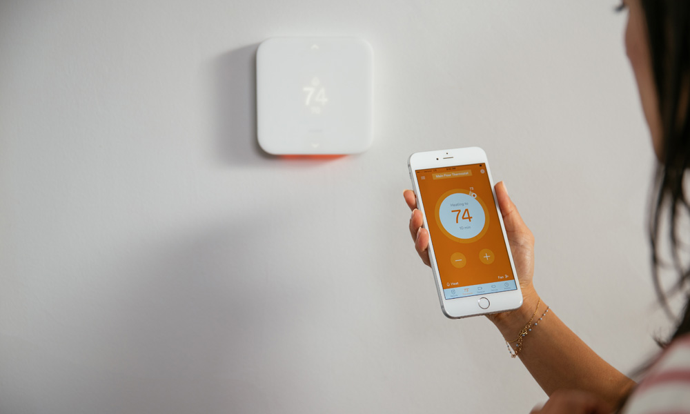 The Element Thermostat controls your home temperature with ease