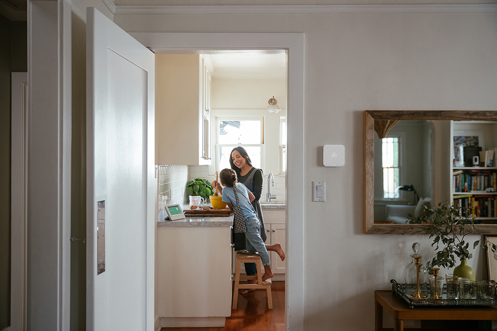 vivint element thermostat family