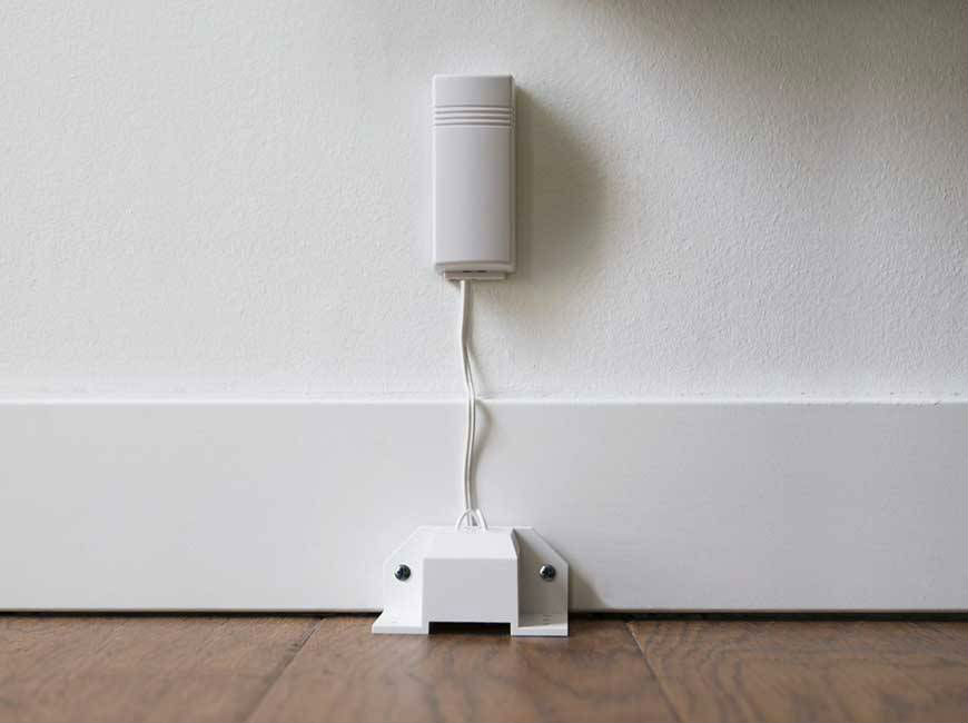 vivint flood sensor wall
