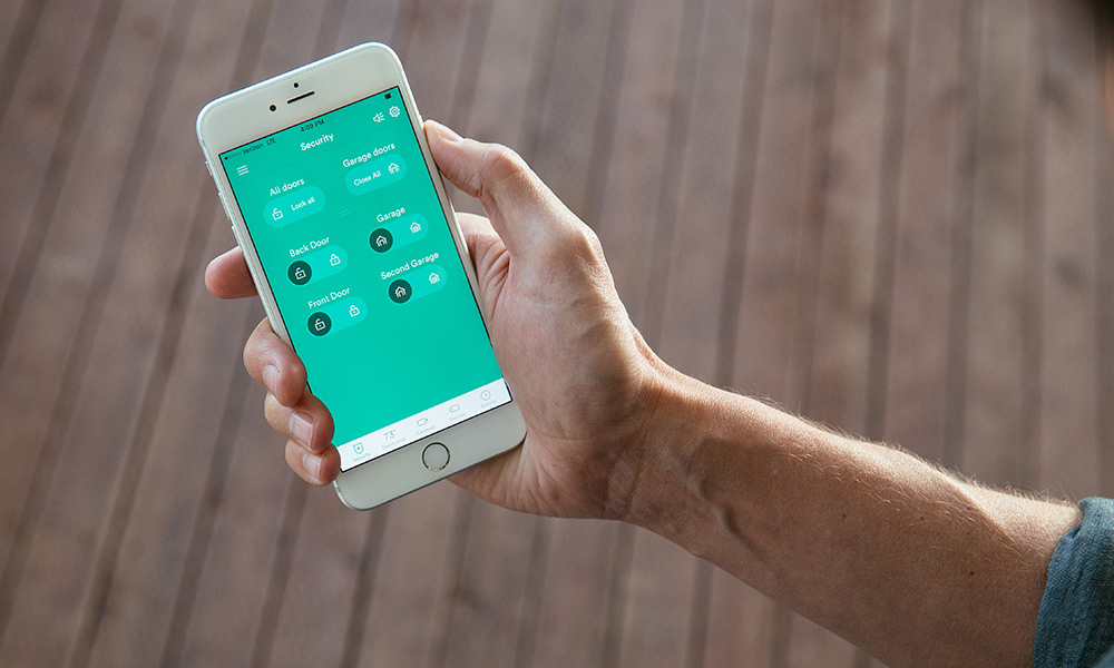 Control your garage door with the Vivint Smart Home app