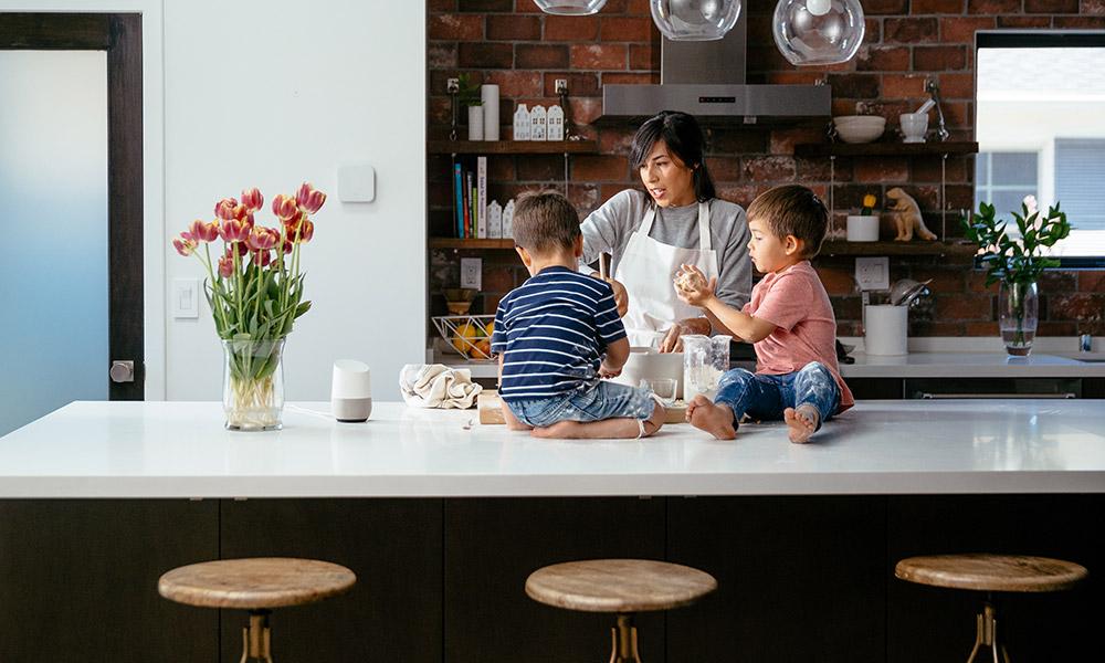 vivint smart home google home
