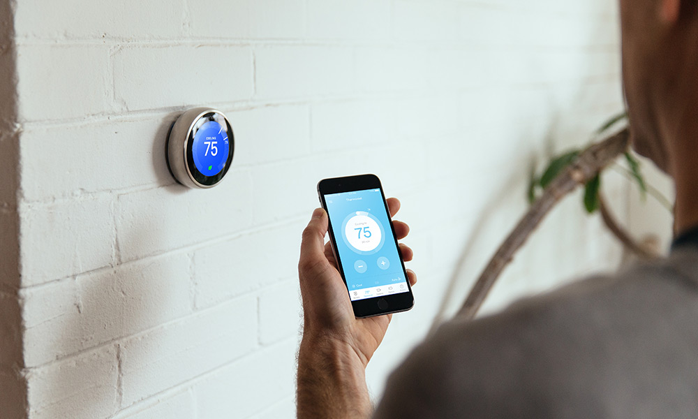 Nest Thermostat integrating with a Vivint system