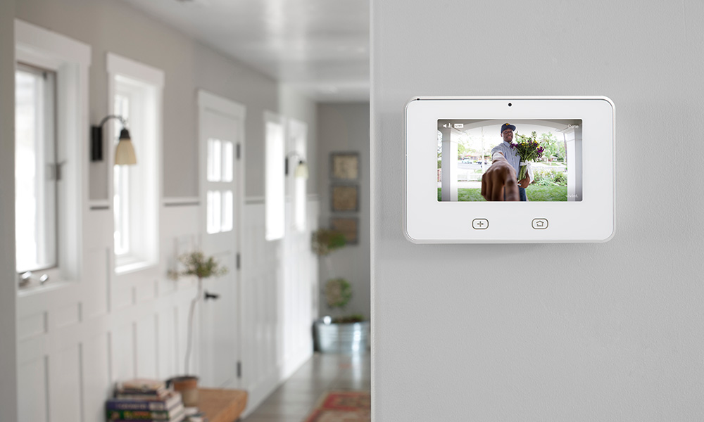 Sky Control Panel View Doorbell Camera Delivery