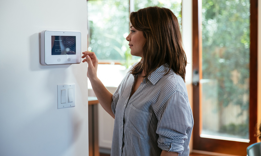 Wireless home automation systems provide an extra level of home security