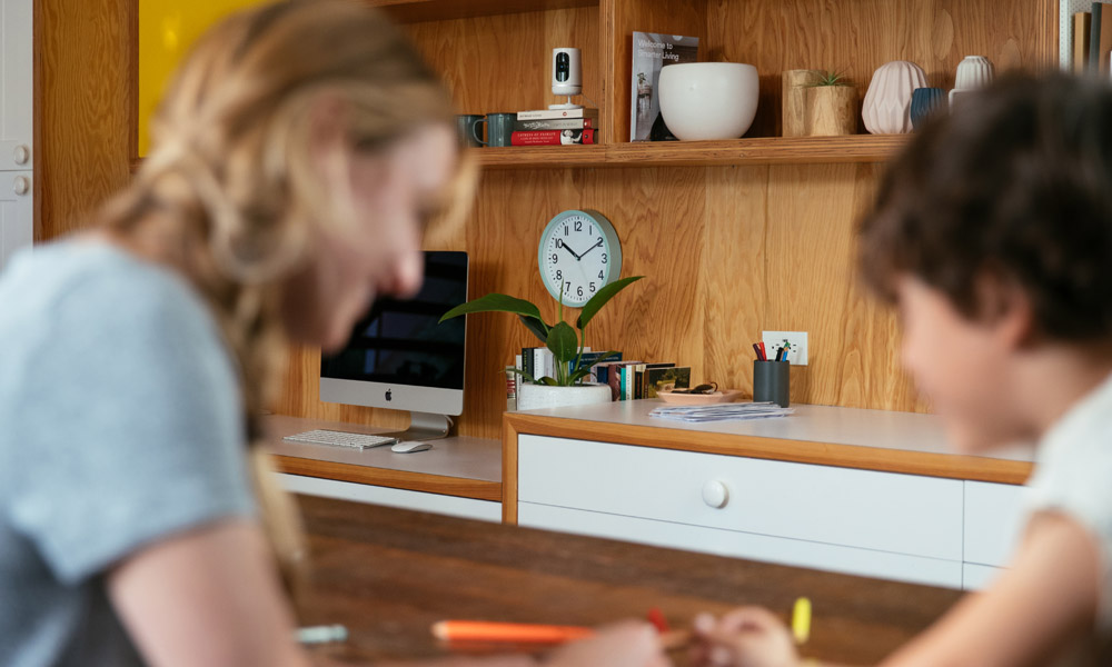 The Vivint Ping Camera lets you keep an eye on your kids