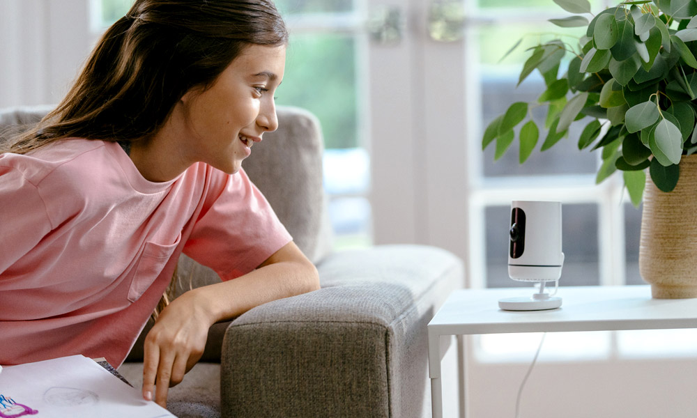 ping camera vivint smart home