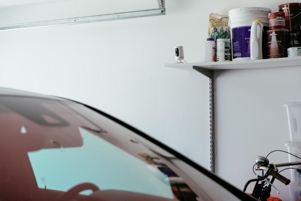Vivint Ping Camera Garage Shelf