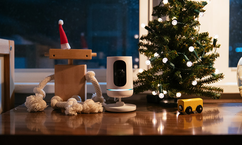 The Vivint Ping Camera is an indoor camera that connects you with your home