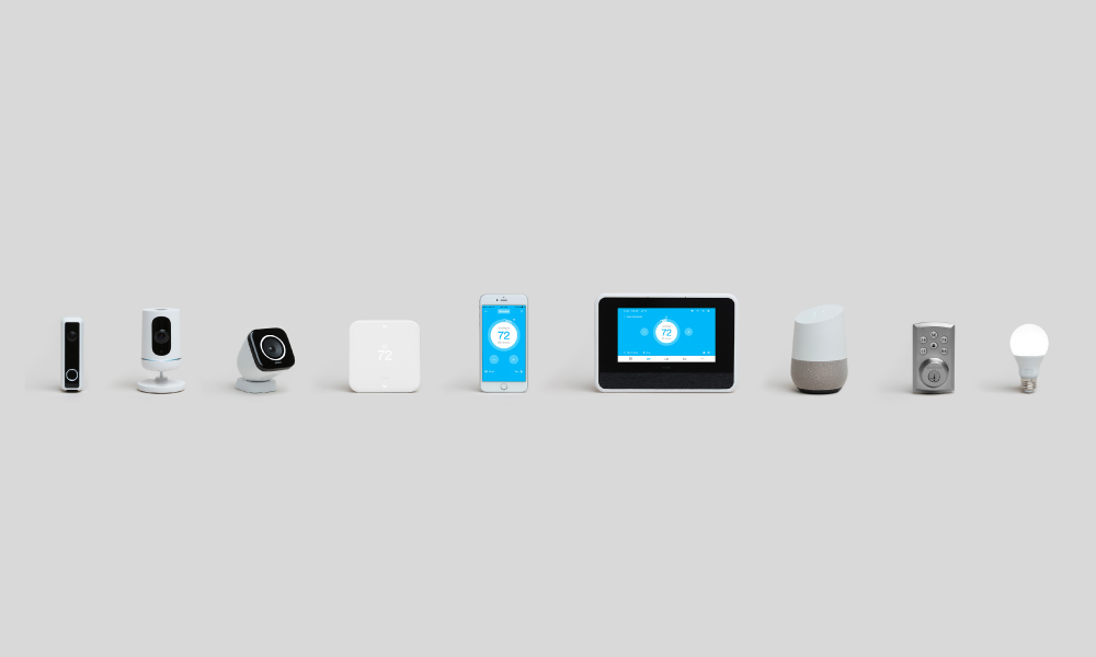 vivint home security product lineup