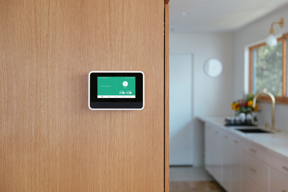 Vivint Smart Hub Kitchen