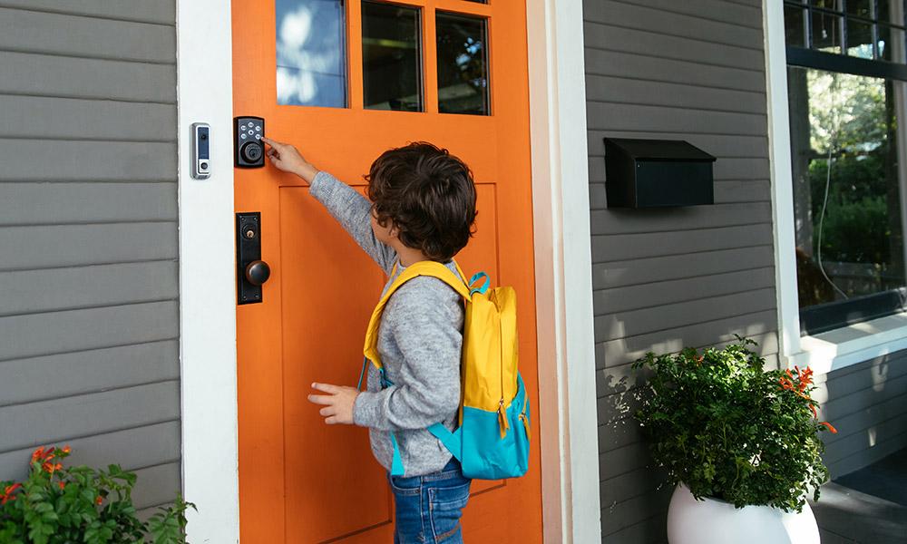 Smart lock vivint smart home