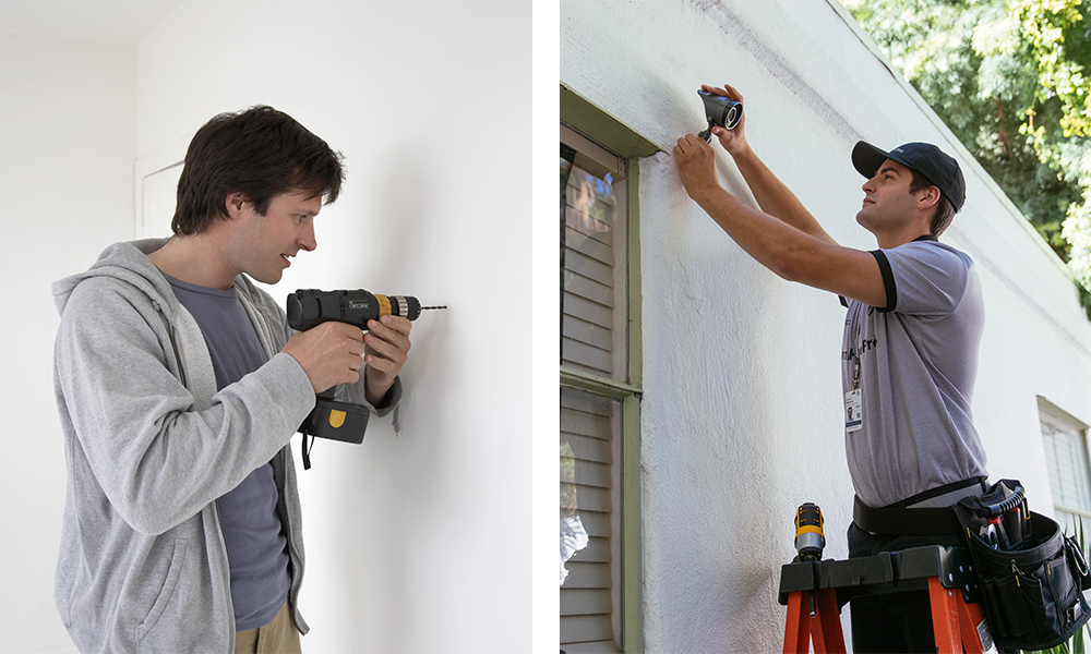 dIY vs professional install