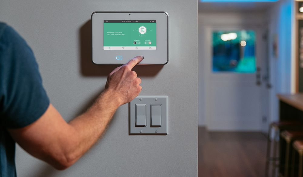 The SkyControl Panel lets you control your smart home